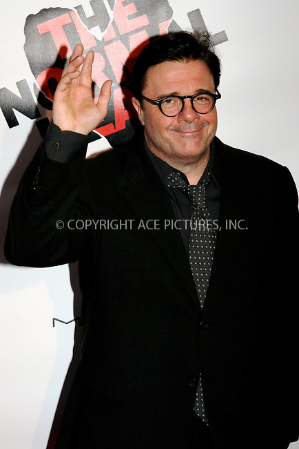 WWW.ACEPIXS.COM . . . . .  ....April 27 2011, New York City....Nathan Lane arriving at the Broadway opening night of 'The Normal Heart' at The Golden Theatre on April 27, 2011 in New York City. ....Please byline: NANCY RIVERA- ACEPIXS.COM.... *** ***..Ace Pictures, Inc:  ..Tel: 646 769 0430..e-mail: info@acepixs.com..web: http://www.acepixs.com