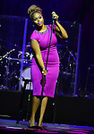 MIAMI, FL - SEPTEMBER 20: Chrisette Michele performs during the 'Back To Love Tour' at James L Knight Center on Saturday September 20, 2014 in Miami, Florida. (Photo by Johnny Louis/jlnphotography.com)