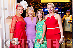 Pictured at the Rose of Tralee Fashion Show on Sunday night last held in the Dome, Tralee, l-r: Margaret Hynes Cahill (Ardfert), Kinga Grunau (Tralee), Caroline O'Sullivan (Lisselton) and Diane Jeffers (Ardfert).
