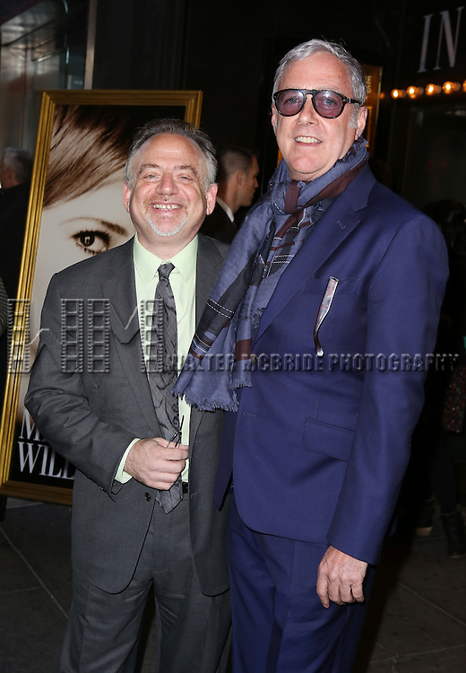 Marc Shaiman and Scott Wittman attending the Broadway Opening Night Performance of 'Cabaret' at Studio 54 on April 24, 2014 in New York City.