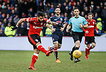 Daniel Candeias opens the scoring for Rangers