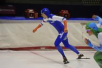 SCHAATSEN: HEERENVEEN: 25-10-2014, IJsstadion Thialf, Trainingswedstrijd schaatsen, Margot Boer, ©foto Martin de Jong
