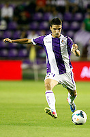 Real Valladolid´s Omar during La Liga match.August 31,2013. (ALTERPHOTOS/Victor Blanco)