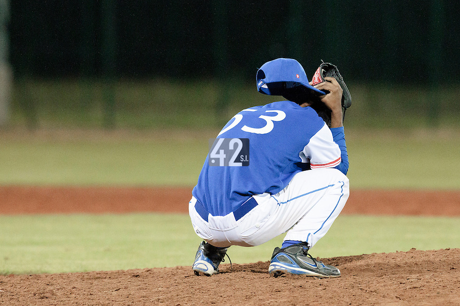 17 August 2010: David Van Heyningen of Team France looks dejected after the final pitch during the Czech Republic 4-3 win over France, at the 2010 European Championship, under 21, in Brno, Czech Republic.