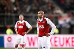 Nederland, Alkmaar, 5 maart 2009..KNVB Beker.Seizoen 2008-2009.AZ-NAC (1-2).Simon Poulsen van AZ (r)