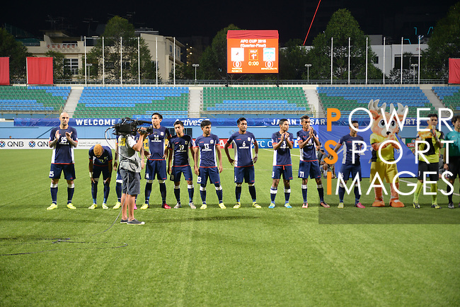 Tampines Rovers (SIN) vs JSW Bengaluru FC (IND) during their AFC Cup 2016 Quarter Finals match at Jalan Besar Stadium on 21 September 2016, in Singapore. Photo by Stringer / Lagardere Sports