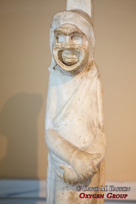 Actor In His Mask 1177, Istanbul Archaeology Museum