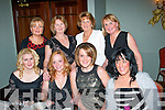 Staff from Allure & Cutting Edge, Tralee had a fab night together for their annual Christmas bash in the Imperial hotel, Tralee, on Saturday night present were seated l-r: Katie Roberts, Dot Twomey, Jacinta Lawlor and Sarah O'Sullivan. Back l-r: Liz Lawlor, Mary Doyle, Pauline Comerford and Kathy Irwin.