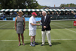 Don Henson honored by the USPTA New England chapter at the International Tennis Hall of Fame in Newport, RI on Monday July 17, 2017(Photo/Joe Giblin)