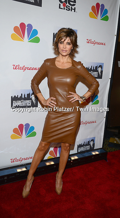 "Lisa Rinna attends the ""All-Star Celebrity Apprentice Finale Party "".on May 19, 2013 at Cipriani 42nd Street in New York City."