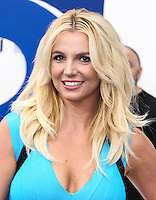 LOS ANGELES, CA - JULY 28: Britney Spears attends the premiere Of Columbia Pictures' 'Smurfs 2' at Regency Village Theatre on July 28, 2013 in Los Angeles, California.