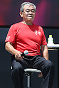 Takuji Hayata,<br /> AUGUST 6, 2016 : <br /> The Tokyo Organising Committee of the Olympic and Paralympic Games and the Tokyo Metropolitan Government <br /> hold a promotion event &quot;Tokyo 2020 Live Sites in 2016-from Rio to Tokyo&quot; at Ueno park in Tokyo, Japan. <br /> The Live Sites will be held as an official program of the Olympic and Paralympic Games. <br /> At the Live Sites, visitors will be able to view exciting live broadcasts shown on a jumbo screen outside competition venues, <br /> enjoy stage events, and experience Olympic/Paralympic sports on a trial basis. <br /> (Photo by Shingo Ito/AFLO)