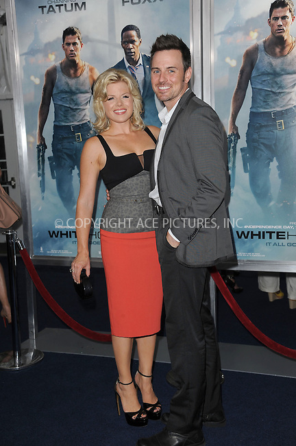 WWW.ACEPIXS.COM<br /> June 25, 2013...New York City <br /> <br /> Megan Hilty attending 'White House Down' New York Premiere at Ziegfeld Theater on June 25, 2013 in New York City.<br /> <br /> Please byline: Kristin Callahan... ACE<br /> Ace Pictures, Inc: ..tel: (212) 243 8787 or (646) 769 0430..e-mail: info@acepixs.com..web: http://www.acepixs.com