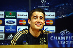UEFA Champions League 2013/2014.<br /> Press Conference and Training (Ajax).<br /> Bojan Krkic.