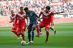 14.04.2019, Merkur Spielarena, Duesseldorf , GER, 1. FBL,  Fortuna Duesseldorf vs. FC Bayern Muenchen,<br />  <br /> DFL regulations prohibit any use of photographs as image sequences and/or quasi-video<br /> <br /> im Bild / picture shows: <br /> <br /> <br /> Foto © nordphoto / Meuter