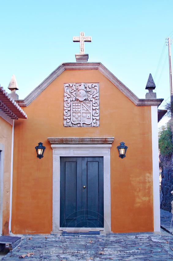 the chapel quinta do vallado douro portugal