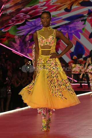 NEW YORK, NY - NOVEMBER 08: Mayowa Nicholas at the 2018 Victoria's Secret Fashion Show at Pier 94 on November 8, 2018 in New York City. Credit: John Palmer/MediaPunch