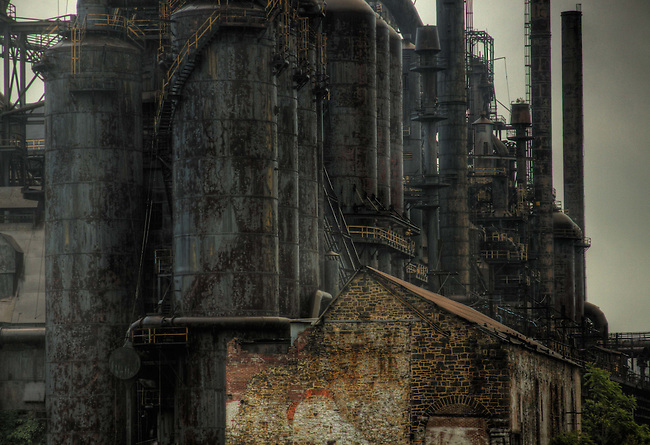 Old Abandoned Steel Works