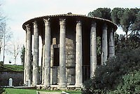 "Italy: Rome--Temple of Vesta ""of the Augustan Age"". Actually Fortunus. Photo '82."