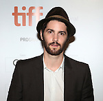 Jim Sturgess attending the The 2012 Toronto International Film Festival.Red Carpet Arrivals for  'Cloud Atlas' at the Princess of Wales Theatre in Toronto on 9/8/2012