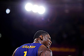 8th December 2017, Palau Blaugrana, Barcelona, Spain; Turkish Airlines Euroleague Basketball, FC Barcelona Lassa versus Fenerbahce Dogus Istanbul; Kevin Seraphin of FC Barcelona gives instructions to his teammates