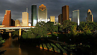 Houston skyline, 2013