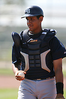 March 19th 2008:  Tomas Francisco of the Tampa Bay Devil Rays minor league system during Spring Training at the Raymond A. Naimoli Complex in St. Petersburg, FL.  Photo by:  Mike Janes/Four Seam Images