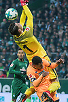 13.01.2018, Weser Stadion, Bremen, GER, 1.FBL, Werder Bremen vs TSG 1899 Hoffenheim, im Bild<br /> <br /> Jiri Pavlenka (Werder Bremen #1)<br /> <br /> Foto &copy; nordphoto / Kokenge