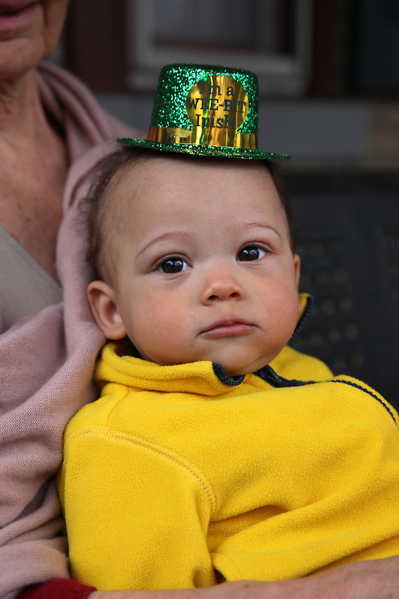 (150314RREI1278) Biosah Byron Mokwunye getting his St. Patrick's Day on and soaking in his Irishness! Washington DC .  March 14 , 2015.  © Rick Reinhard  2015  email rick@rickreinhard.com