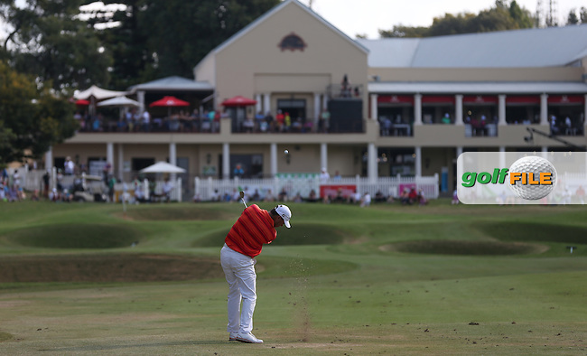 Keith Horne (RSA) plays to the last during Round Three of the Tshwane Open 2015 at the Pretoria Country Club, Waterkloof, Pretoria, South Africa. Picture:  David Lloyd / www.golffile.ie. 14/03/2015