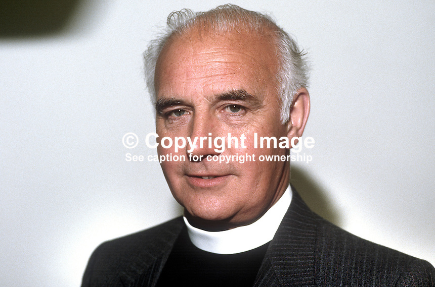 Rev Sydney Frame, 1986/1987 President, Irish Methodist Church, 19830603SF1..Copyright Image from Victor Patterson, 54 Dorchester Park, Belfast, UK, BT9 6RJ..Tel: +44 28 9066 1296.Mob: +44 7802 353836.Voicemail +44 20 8816 7153.Skype: victorpattersonbelfast.Email: victorpatterson@me.com.Email: victorpatterson@ireland.com (back-up)..IMPORTANT: If you wish to use this image or any other of my images please go to www.victorpatterson.com and click on the Terms & Conditions. Then contact me by email or phone with the reference number(s) of the image(s) concerned.