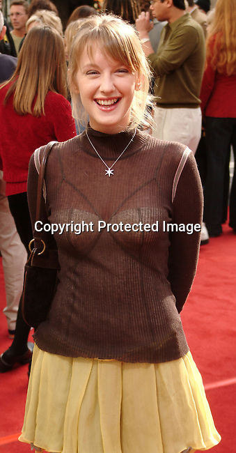 Ludivine Sagnier<br />&quot;Peter Pan&quot; - Los Angeles Premiere<br />Grauman's Chinese Theatre<br />Hollywood, CA, USA <br />Saturday, December 13, 2003<br />Photo By Celebrityvibe.com/Photovibe.com