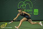 March 24 2016:  Martina Hingis (SUI) and Sania Mirza (IND) defeat Lara Arruabarrena (ESP) and Raluca Olura (ROU) 6-0, 6-4, at the Miami Open being played at Crandon Park Tennis Center in Miami, Key Biscayne, Florida.