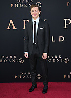 "04 June 2019 - Hollywood, California - Tye Sheridan. ""Dark Phoenix"" Los Angeles Premiere held at TCL Chinese Theatre. <br /> CAP/ADM/BT<br /> ©BT/ADM/Capital Pictures"