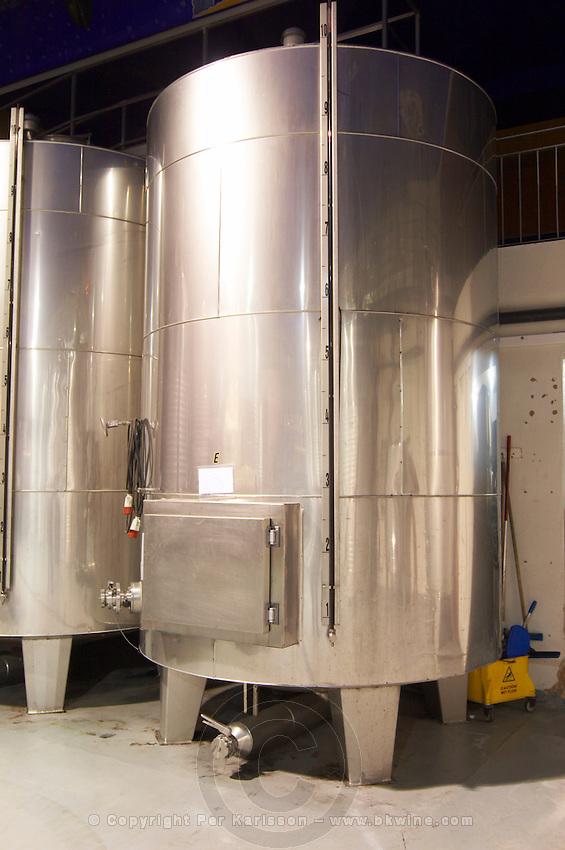 thermo-insulated tank Bodegas Vinas Zamoranas, DO Tierra del Vino de Zamora , Coreses spain castile and leon
