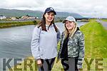 Chloe Nammock and Emma Lynch enjoying a stroll in Blennerville on Sunday.