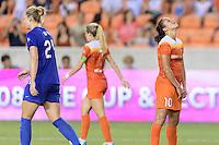 Houston, TX - Sunday Sept. 11, 2016: Carli Lloyd during a regular season National Women's Soccer League (NWSL) match between the Houston Dash and the Boston Breakers at BBVA Compass Stadium.