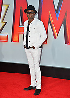 LOS ANGELES, CA. March 28, 2019: Wayne Brady at the world premiere of Shazam! at the TCL Chinese Theatre.<br /> Picture: Paul Smith/Featureflash