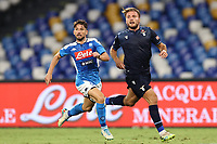 Dries Mertens of SSC Napoli and Ciro Immobile of SS Lazio<br /> during the Serie A football match between SSC  Napoli and SS Lazio at stadio San Paolo in Naples ( Italy ), August 01st, 2020. Play resumes behind closed doors following the outbreak of the coronavirus disease. <br /> Photo Cesare Purini / Insidefoto