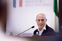 Minniti presiede comitato nazionale ordine e sicurezza pubblica, al termine conferenza stampa