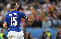 FUSSBALL EURO 2016 VIERTELFINALE IN BORDEAUX Deutschland - Italien      02.07.2016 Andrea Barzagli (Italien)