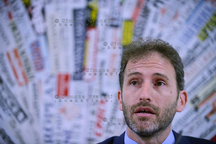 Roma, 2 Agosto 2017<br /> Davide Casaleggio<br /> il Movimento 5 Stelle presenta alla Stampa estera la nuova versione della piattaforma Rousseau con Davide Casaleggio