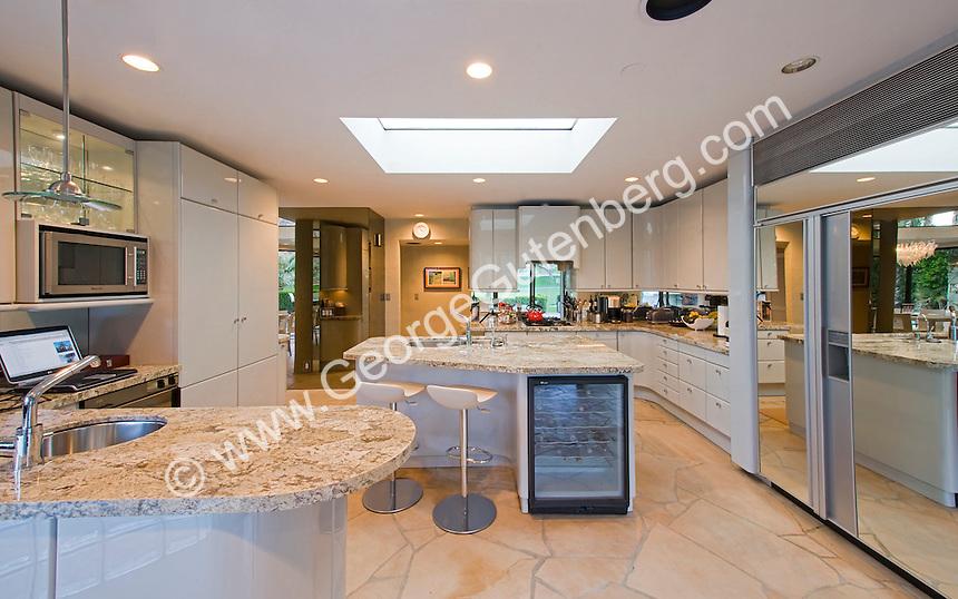 Stock photo of residential kitchen
