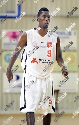2012-08-15 / Basketbal / seizoen 2012-2013 / Antwerp Giants 2 / Yunis Eillyas..Foto: Mpics.be