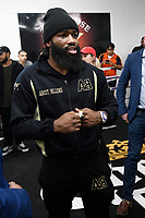 VAN NUYS, CA - JANUARY 9: Adrien Broner at the Manny Pacquiao and Adrien Broner Los Angeles Media Day at the Ten Goose Boxing Gym in Van Nuys, California on January 9, 2019. Credit: Damairs Carter/MediaPunch
