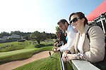 ISPS Handa Wales Open<br /> Sam & Rachel Warburton<br /> Celtic Manor Resort<br /> 21.09.14<br /> ©Steve Pope-SPORTINGWALES