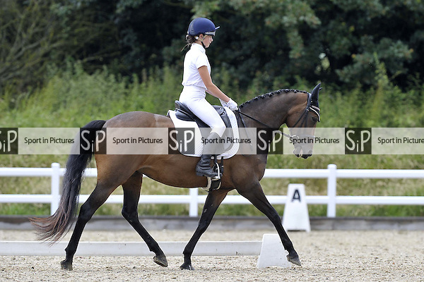 Class 7. Unaffiliated Dressage. Brook Farm Training Centre. Essex. 25/06/2016. MANDATORY Credit Garry Bowden/Sportinpictures - NO UNAUTHORISED USE - 07837 394578