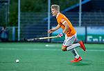 AMSTELVEEN - Jasper Brinkman (Bldaal)   tijdens de play-offs hoofdklasse  heren , Amsterdam-Bloemendaal (0-2).    COPYRIGHT KOEN SUYK