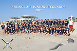 2009 Spring Lake New Jersey Junior Lifeguard Team photo