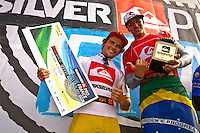 "LA GRAVIERE, Hossegor/France (Wednesday, October 12, 2011) – Gabriel Medina (BRA), 17, newcomer to the elite ASP Top 34 after September's rotation, has secured his inaugural ASP World Title victory today, taking out the Quiksilver Pro France over Julian Wilson (AUS), 22, in high-performance three-to-four foot (1 metre) waves at La Graviere...Stop No. 8 of 11 on the 2011 ASP World Title season, the Quiksilver Pro France culminated today in exciting fashion as the next generation of ASP World Title contenders announced their intentions on the world stage...Medina, in only second event as an ASP Top 34 member, cut a swathe through the world's best surfers, securing three of the top five highest single-wave scores of the event en route to his emotional win...""This is the best feeling ever,"" Medina said. ""I beat some great guys on the way to Final and I'm very stoked now. I want to thank all my friends and family and god for their support. It has been an amazing week for me. Just two years ago, I was here competing in the King of the Groms and I won that event and now I'm here in the main event and I've won it. It doesn't seem real."".Photo: joliphotos.com"